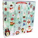 Fill Your Own Advent Calendar Snowy Scene Craft Hobbies At The Works Make Your Own Advent Calendar 2020