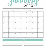 Free 2020 Monthly Calendar Printable Free Printable Print Free Calendar With Lines