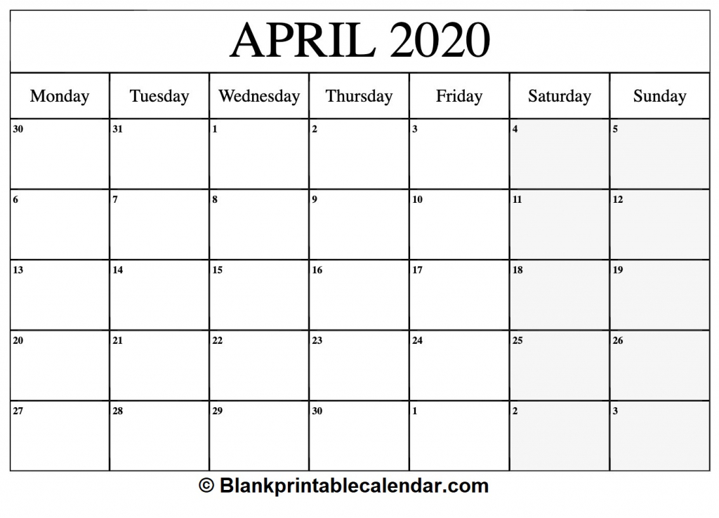 free printable 2020 calendarmonthly and yearly templates printable 30 day calendar 2020