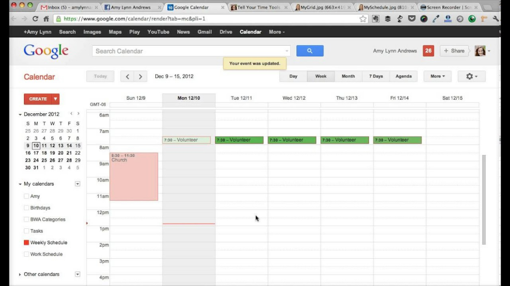 how to create a weekly schedule with google calendar amy add timetable to calander google