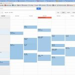 How To Display Description A Calendar View By Days And Hours
