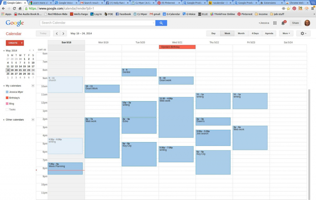 how to display description add timetable to calander google