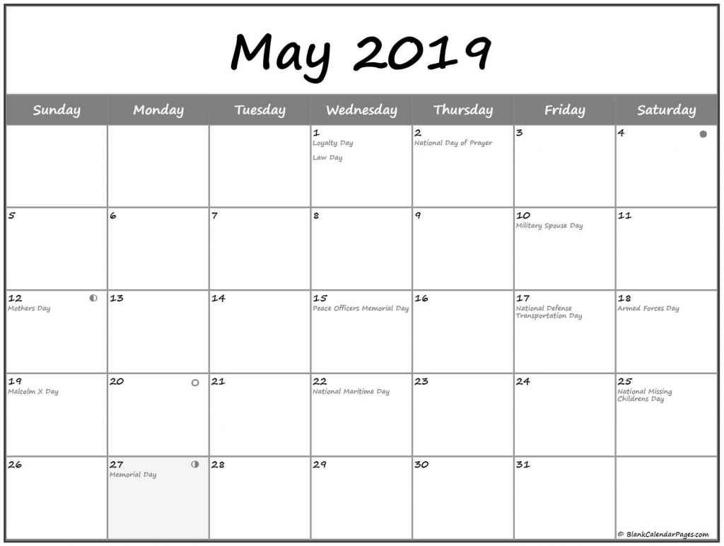 moon phases calendar for may 2019 may 2019 lunar calendar moon phases calendar worksheet