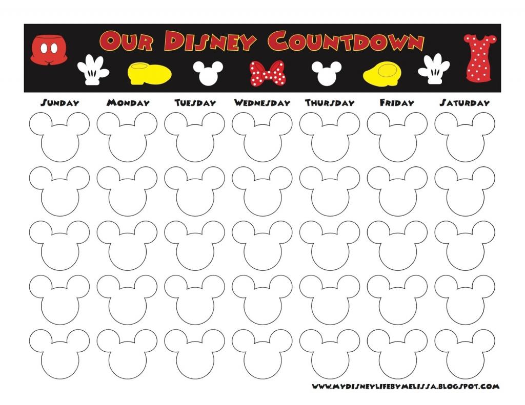 my disney life countdown calendars one year printable disney countdown calendar