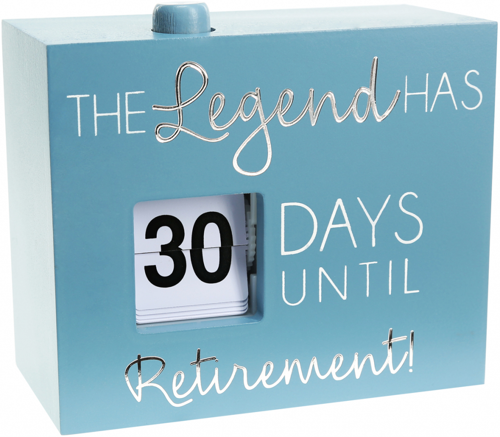 retirement 45 countdown calendar countdown calendar to retirement