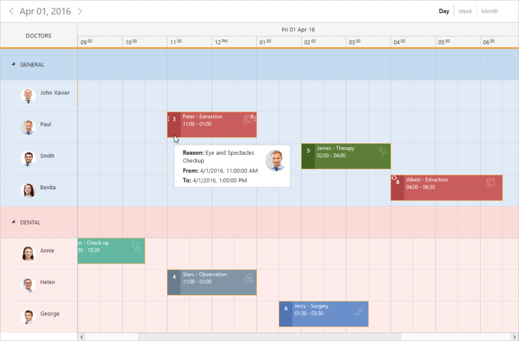 scheduler control for php event calendar syncfusion date and time calendar weekly scheduler in php