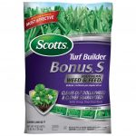 Scotts Bonus S 5m 2039 Lb Florida Weed And Feed Fertilizer Scotts Lawn Care Schedule Great Lakes