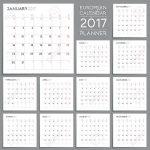 Stock Photo Calendar Template Open