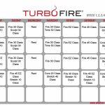Turbo Fire Schedule Weeks 1 4 Turbo Fire Workout Turbo Turbo Fire Calendar