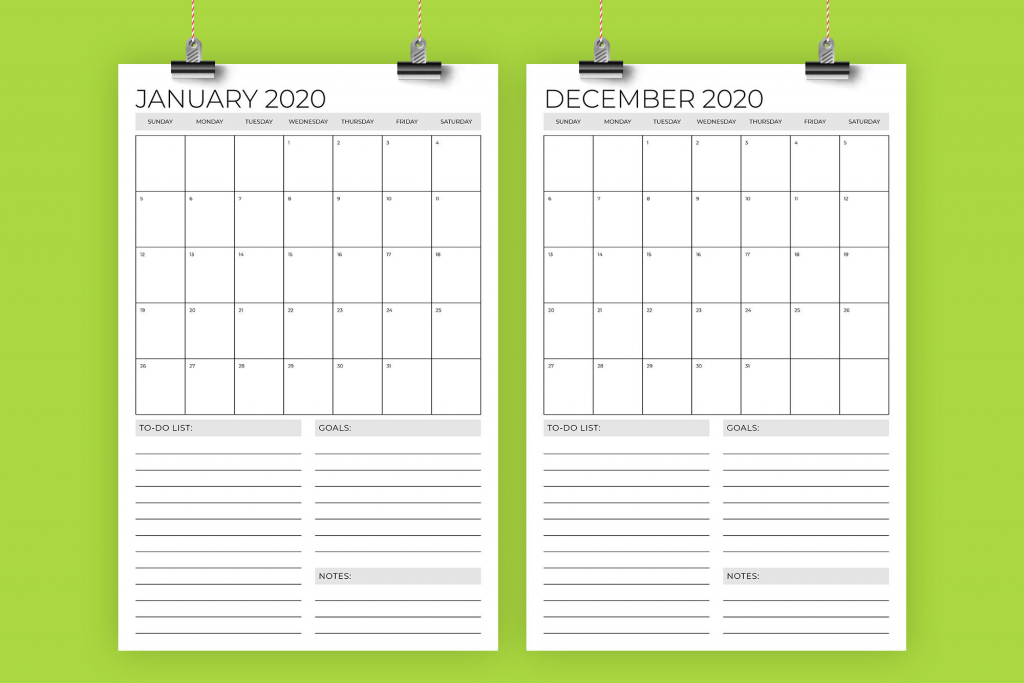 vertical 11 x 17 inch 2020 calendar template running with running calendar 2020 remplate