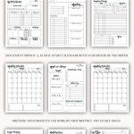 10 In 1 Ultimate Life Planner Kit Printable Planner Daily Printable Planner 10 Years