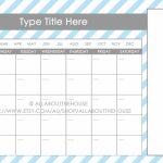 11×17 Calendar Template Word 11by17 Blank Calendar