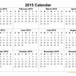 2015 Calendar Free Yearly Calendar Templates 2015 Printable Countdown Calendar To March 25th