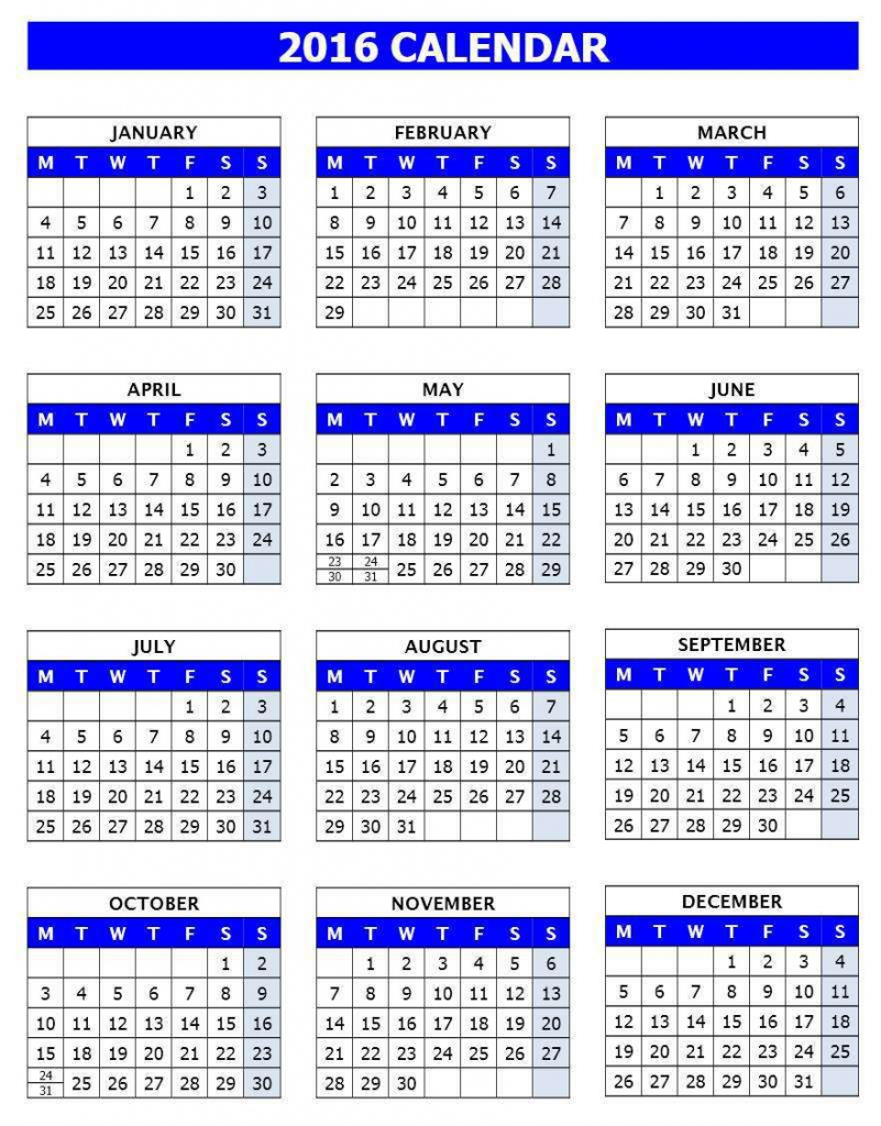 2016 calendar to print calendar template for openoffice