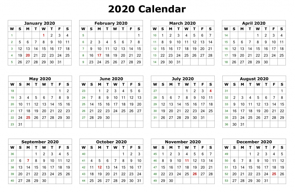 2020 12 months calendar printable printable calendar 11x17 printable pictures 11x17