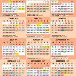 2020 Way Calendar Feng Shui Master Singapore Chinese Lunar Calendar 2020