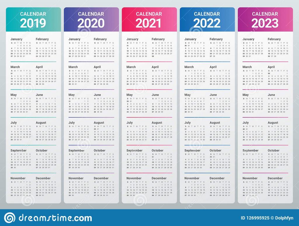 5 year calendar template himalayan free 5 year calendars