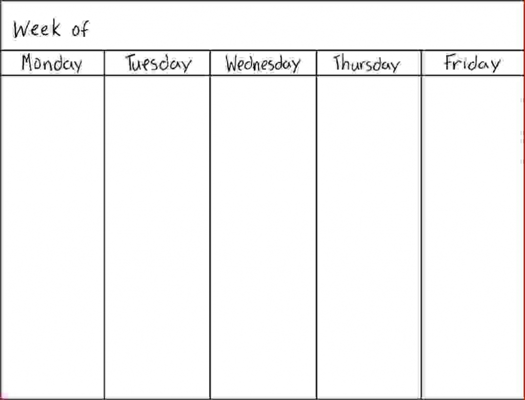 7 day weekly schedule template physicminimalisticsco 7 day printable day of the week calendar