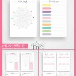 A5 Planner Printable Planner New Year Planner Resolutions Printable Planner 10 Years