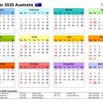 Australia Calendar 2020 Free Printable Excel Templates Online Day Counter Calendar 2020