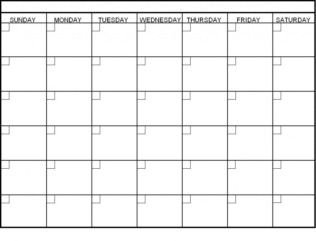blank 6 week calendar oklmindsproutco pictures within 6 week week 6 printable schedule