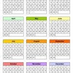 Blank Calendars Free Printable Microsoft Word Templates 10 Year Monthly Calendar Template