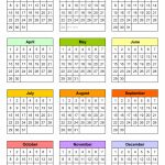 Blank Calendars Free Printable Microsoft Word Templates Ten Year Calendar Printable