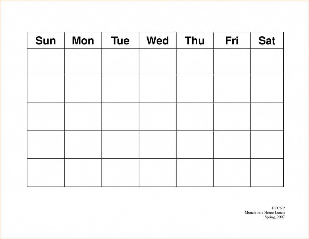 calendar 5 day weekly calendar template on 5 week calendar printable day of the week calendar