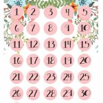 Countdown Calendar Printable Vacation Free Calendar Countdown To Vacation Calendar
