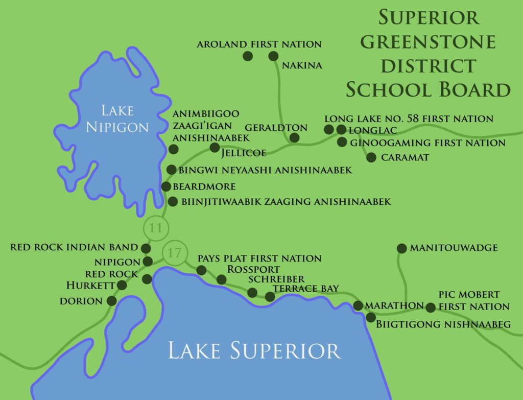 district 6b superior north superior and district