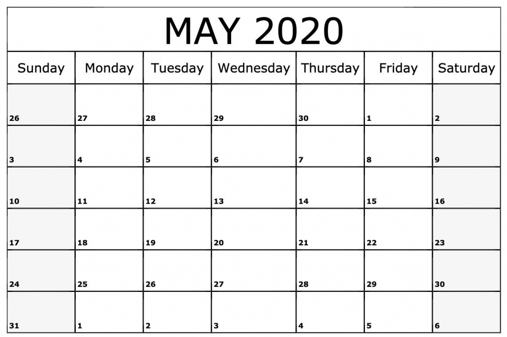 free cute may 2020 calendar template printable calendar printable sunrise and sunset calendar 2020