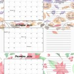 Free Printable 2020 Quarterly Calendars With Holidays 3 Printable Monthly Calendar 2020 With My Little Ponies