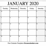 January 2020 Calendar Printable Monday Calendar Free Printable Sunrise And Sunset Calendar 2020