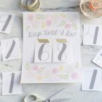 Kb Photography Our Blog Freebies A Printable Wedding Countdown Calender To Wedding Printable