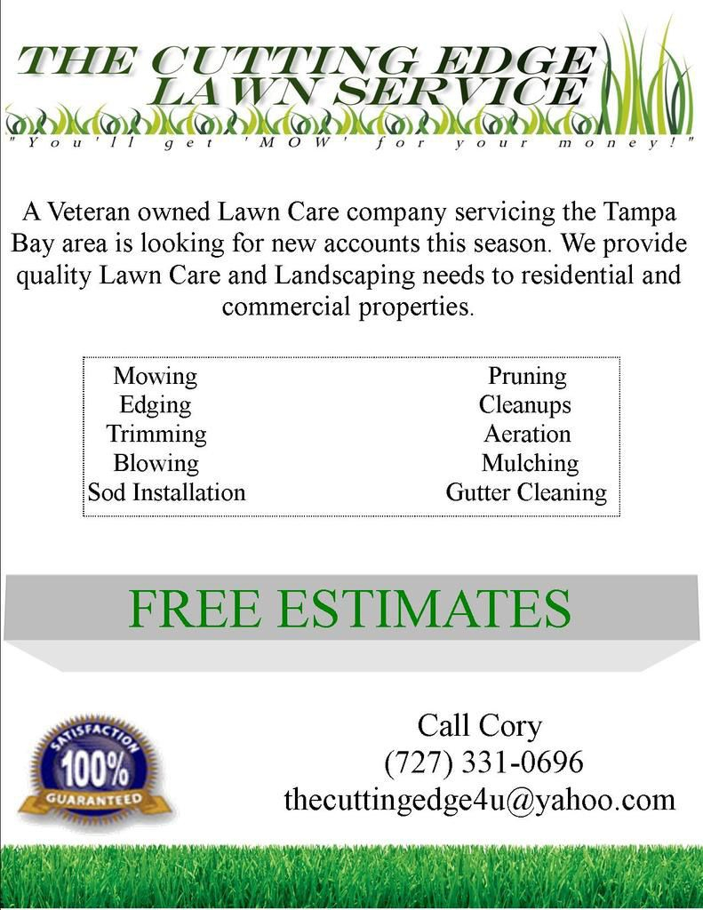 lawn care flyer free template lawn care business marketing free lawn care schedule