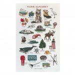 Maine Alphabet Print 11×17 Printable Pictures 11×17