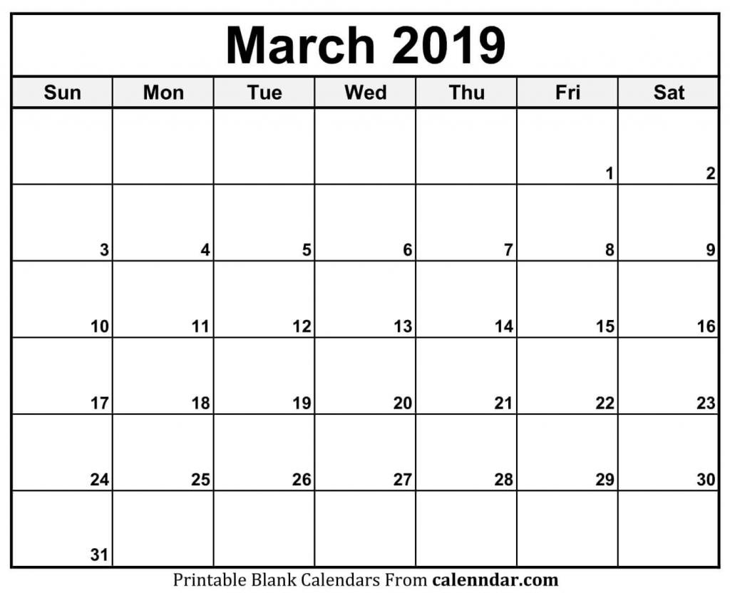 march calendar 2019 11x17 march march2019calendar 11by17 blank calendar