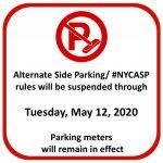 New York City 311 On Twitter Hi Only Alternate Side Alternate Side Parking 2020