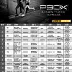 P90x Workout Schedule P90x Workout Schedule P90x Workout P90x Doubles Calendar