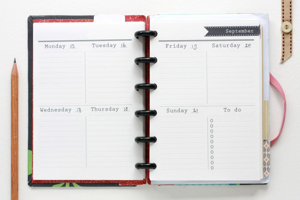 printable agenda vulling weekly planner printable planner printable student calendar 2020 2020