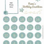 Printable Calendar Countdown Printable Calendar 2020 Printable Countdown Calendar 2020