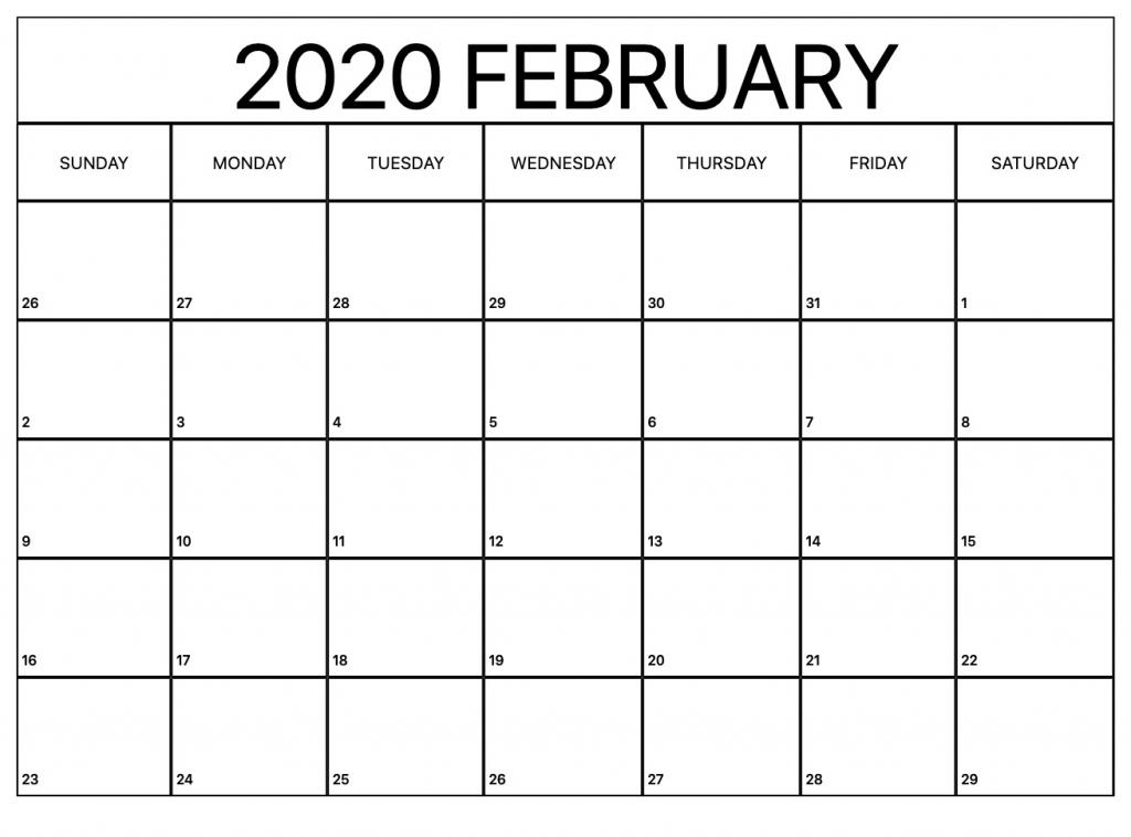 printable february calendar for 2020 waterproof paper 12 waterproof paper august 2020 2