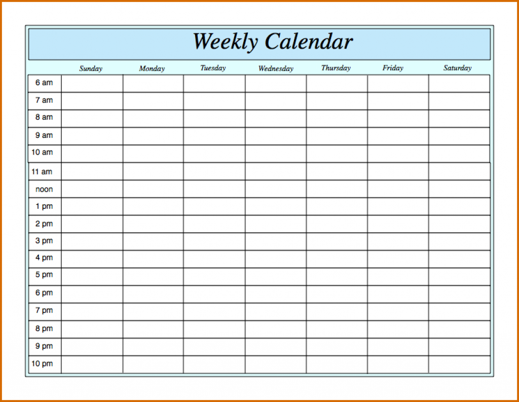 printable weekly calendar with hours kenom weekly calendar with hours printable