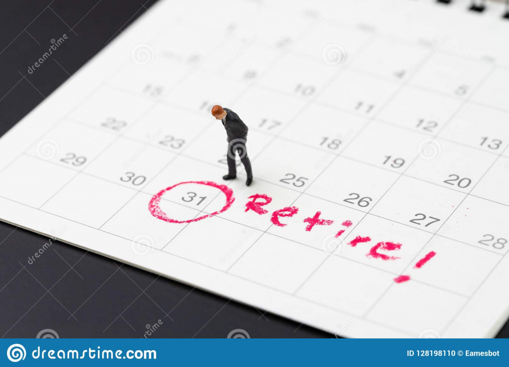 retirement goal or financial freedom planning for success free retirement calendar