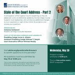 San Diego Superior Court State Of The Court Address Sdcba San Diego Court Calander