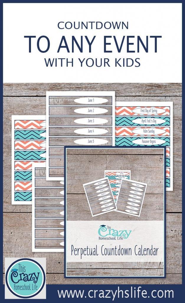 the printable perpetual countdown calendar vacation kids countdown calendar printable