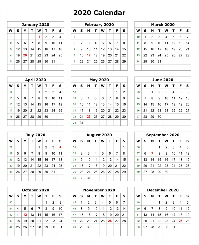12 month calendar 2020 printable with holidays monthly august 2020 printable calendar 11x17