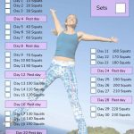30 Day Squat Challenge A Fitness Challenge For All Squat Challenge Printable