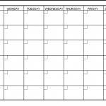 6 Week Printable Blank Calendar Free Calendar Template Example 6 Week Calendar