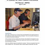 A Guide To Ham Radio Contests Manualzz Ham Contests